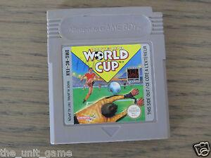 JEU NINTENDO GAMEBOY NINTENDO WORLD CUP   GAME BOY