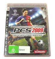 PES 2009 Sony PS3