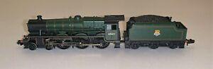 """Farish (372-476) Class 6P Jubilee 4-6-0 45611 """"Hong Kong"""" in BR Green  DCC Ready"""