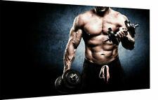 Leinwand Bilder Wandbilder Sport Muskeln Motivation - Hochwertiger Kunstdruck