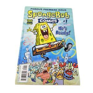 Spongebob Comics #1 United Plankton Pictures 2011 first edition original book