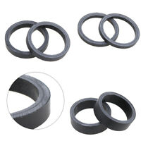 6pcs/set UD Matte Full Carbon Fibre Bicycle Fork Headset Spacers for Road Bike