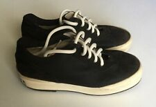 Chanel Sneakers Suede Lace Up CC Front Toe Shoes 7.5 US Size France