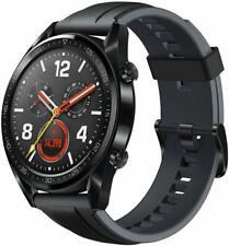 "Huawei Watch GT-2018 GPS, Bluetooth Smartwatch, 1.39"" Amoled HR Monitor - Black"