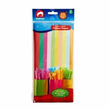 BRAND NEW ELC Tissue Paper Assorted Colours 20 Pack - 10 Assorted colours