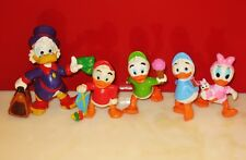 Disney's Ducktales Scrooge McDuck By Applause Bullyland PVC Figures Set of 5 NEW