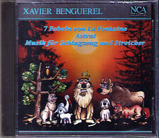 Xavier BENGUEREL Astral 7 Fabeln von la Fontaine Music for Percussion Strings CD