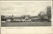 Bennington VT Soldiers Home c1905 Postcard EXC COND