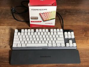 SteelSeries Apex 7 TKL Compact Mechanical Gaming Keyboard W/ Pudding Key Caps