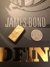 Big Chief Studios James Bond GOLDFINGER Barra De Oro Corta Suelto Escala 1/6th