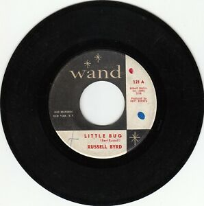 60s NORTHERN SOUL 45~RUSSELL BYRD~LITTLE BUG / NIGHTS IN MEXICO~WAND 121~VG+