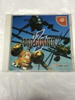 Zero Gunner 2 DC Psikyo SAIKYO Sega Dreamcast Spine Japan USED good