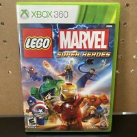 LEGO Marvel Super Heroes (Microsoft Xbox 360, 2013) Complete Tested