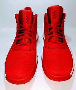 Mens Adidas Basketball Shoes Sz 15 Red AC7218