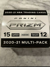 2020-21 Prizm Basketball Cello Box NBA 12 Factory Sealed Packs -Unsealed In Hand