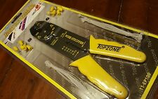 """wire stripper 8 """" crimping tool & Wire terminal 31 pc kit (topzone)"""