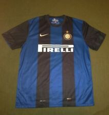 FC INTERNAZIONALE INTER MILAN 2012/2013 ORIGINAL FOOTBALL SHIRT JERSEY