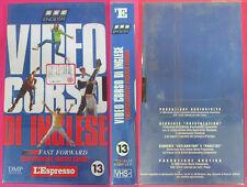 film VHS VIDEOCORSO DI INGLESE CARTONATA L'ESPRESSO VOL. 13 sealed (F184) no dvd