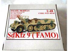 Sd.Kfz 9 FAMO F3 Wespe Models 1:48 military resin model - resin kit 48140