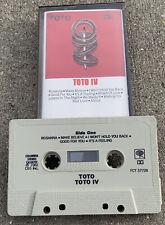 1982 TOTO IV Album Cassette Tape (Columbia Records) Rock & Roll: Africa, Rosanna