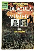 Dell Giant Universal Pictures Presents Dracula The Mummy plus other Stories