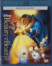 Beauty And The Beast , Disney 3D Blu-ray + Blu-ray _ New sealed