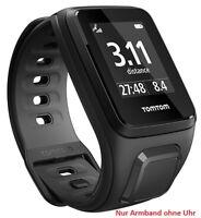 TomTom Wechselarmband schwarz S für Runner & 2 Spark & 3 Golfer small black