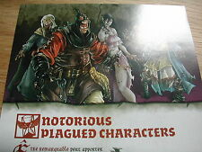 NOTORIOUS PLAGUED CHARACTERS REGLES FRANCAISE/ZOMBICIDE BLACK PLAGUE / NPC1 BOX