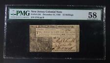 New listing 1763 12 Shillings Colonial New Jersey Lot 116