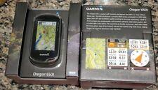 **Brand New** Garmin Oregon 650t Handheld Geocaching GPS *Great Gift*