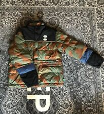 Off-White Camo Puffer Jacket Khaki Size L - 100% Authentic