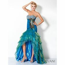 JOVANI PROM EVENING GOWN *3604* SIZE 4, READY TO SHIP! NWTS!