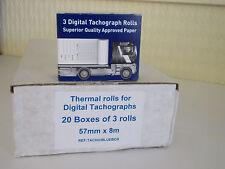 Rollos De Impresora Digital (20 cajas de 3) ambiente, PSV, Tacógrafo producto