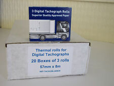 Digital Printer Rolls (20 boxes of 3) HGV, PSV, tachograph product