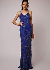 Dress 16 BNWT Virgos Lounge ASOS Embellished Summer Wedding RARE RRP £190 Blue
