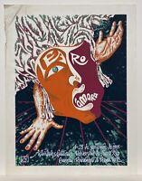 Manuel Rodriguez Ortega, Teatro de Camara Drama UPR, Puerto Rico Art 1991 Signed