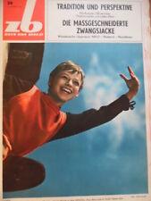 ZEIT IM BILD 26 - 1967 ** Ursula Werner Fußball Niederlande-DDR 3:4 Rostock UFOs