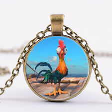 Moana Cute Heihei Pendant Necklace Pendants Kids Jewelry party birthday gift