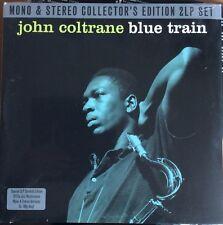 JOHN COLTRANE - BLUE TRAIN - DOUBLE  VINYL LP MONO/ STEREO VERSIONS NEW MINT