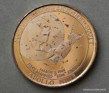 "APOLLO SERIES BY GALAXY APOLLO NINE FIRST MANNED ""LEM"" ORBIT  USA #ZSG70"