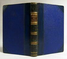 Antique 1853 A HANDBOOK OF ANGLING Sports FISHING Fine Leather Binding EPHEMERA