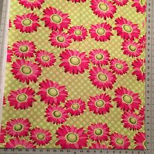 Patty Young~Daisy Dot Cotton Fabric By The 1/2 Yard For Michael Miller