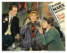 Duck Soup Lobby Scene Card # 8 Poster 1933 The Four Marx Brothers Harpo Chico