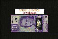 2018 Bank Of Canada $10 Dollar Gem UNC.Viola Desmond Banknote. S/N FFA0000600