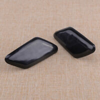 1 Pair Front Side Headlight Washer Nozzle Cover Cap Fit For Volvo C30 10-13