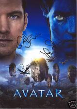 AVATAR CAST AUTOGRAPH SIGNED PP PHOTO POSTER