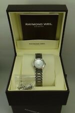 Authentic Raymond Weil Othello Ladies 2321-ST-00308 Stainless Steel Watch w/Box