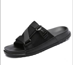 Men Beach Slippers Shoes Walking Slip on Flats Breathable US9 = UK8 = EUR 42