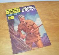 Vintage CLASSICS ILLUSTRATED No. 96 DANIEL BOONE Comic Book 1952 Golden Age