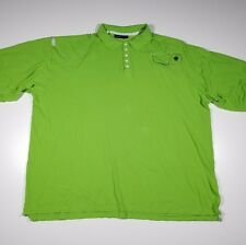 Rocawear Men's 4XL Lime Green Polo Shirt Casual Short Sleeve